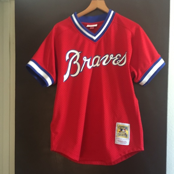 437944296 Mitchell & Ness Shirts | Atlanta Braves Dale Murphy Jersey | Poshmark